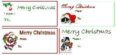 Christmas gift tag thumbnail